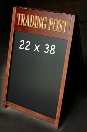 Custom Restaurant Sidewalk Chalkboard Menu Board