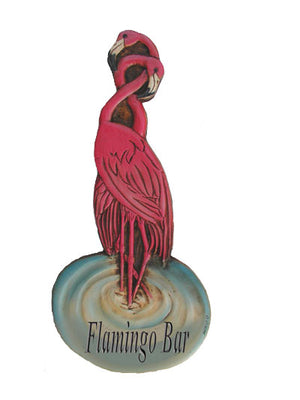 Flamingos plaque-personalize with your name