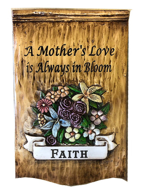 Flower Art Personalized Sign