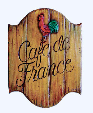 French Kitchen Decor Cafe Sign