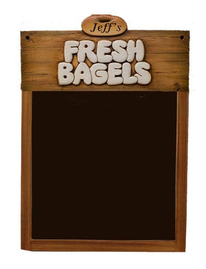 Fresh Bagels Restaurant Chalkboard Menu board  item R575