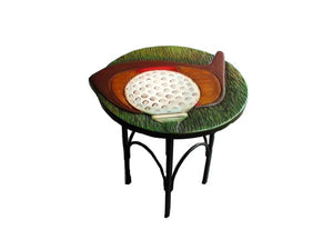 Golfers Decor Accent Table  #1110