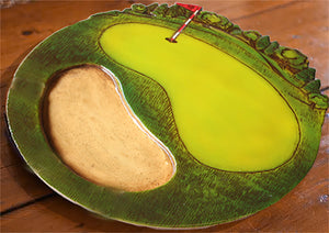 Golfers Table Decor Lazy Susan