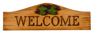 Grape Decor Welcome sign 773DT