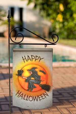 Happy Halloween Plaque and yard stake  item 236