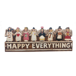 Happy Everything wall plaque door topper  item 241