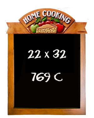 Home Cooking Chalkboard for Restaurant and Home Kitchens