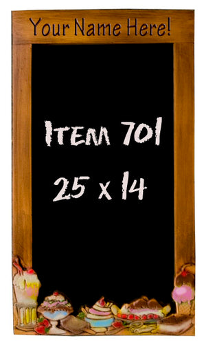 Ice Cream  chalkboard  item 701