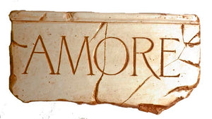Italian Decor Amore Sign  item 654