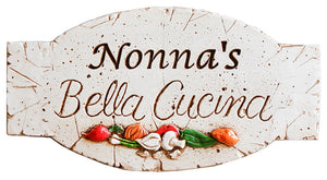 Italian Nonna Kitchen Sign  item 696i