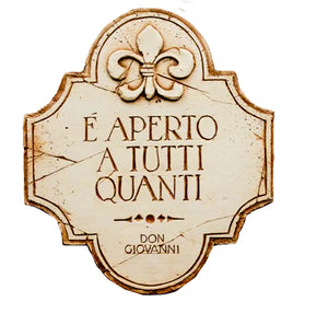 Italian Opera Wall Plaque  from the opera Don Giovanni  #666