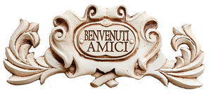 Italian Welcome Sign Benvenuti  item 543D