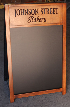 Johnson Bakery Custom Chalkboard