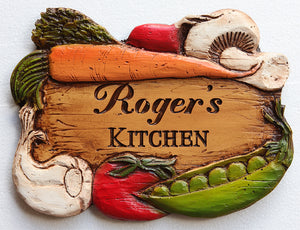 Kitchen Decor Personalized Sign