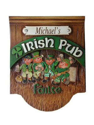 Irish Pub Personalized Sign