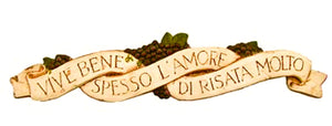 Live Laugh Love Italian wall plaque item 535