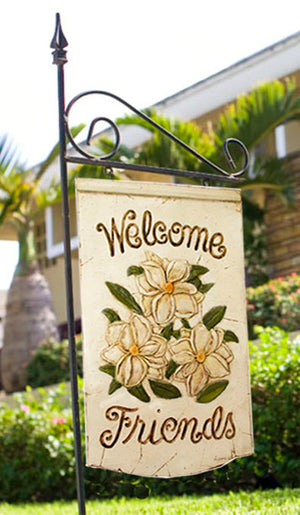 Magnolia Welcome Sign Yard Decor