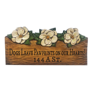 Magnolia home Decor Custom Name or Address Sign