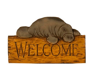 Manatee Welcome Sign item 311