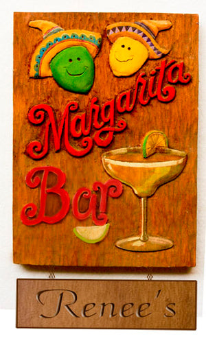 Margarita Bar personalized sign