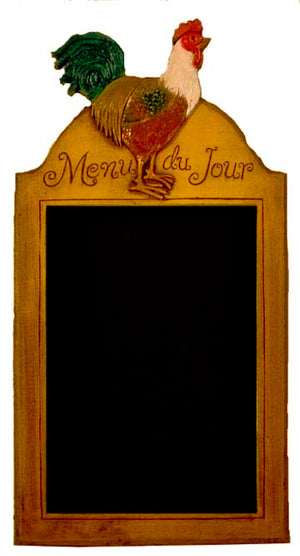 Menu du Jour French Country chalkboard item 551B