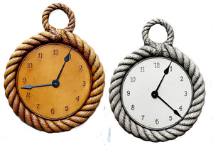 Nautical Decor Rope Clock, item 338-R