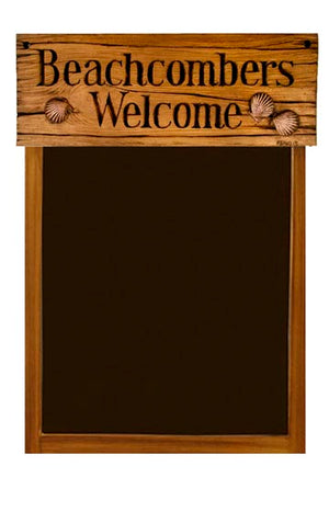 Nautical Theme Beachcomber blackboard chalkboard