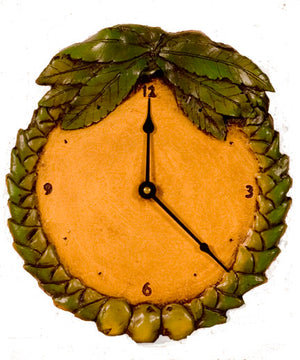 Palm Tree Tropical wall clock   item 389C