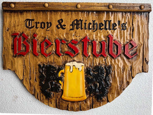 Personalized German Beer Sign
