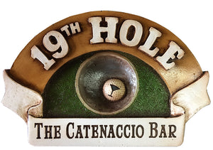Personalized Golf Sign   item 154