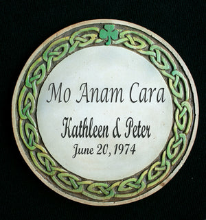 Personalized Irish Wedding or Anniversary Plaque