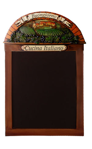 Personalized Italian Theme Chalkboard and Menuboard