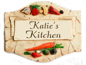 Personalized Kitchen Sign Plaque  item 559P