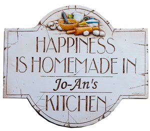 Personalized Kitchen Decor Sign   item 192A