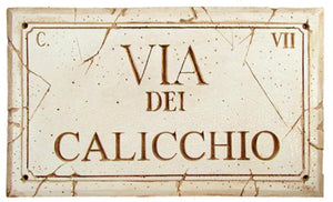 Personalized Rome Street Sign