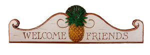 Pineapple Wall Decor Plaque