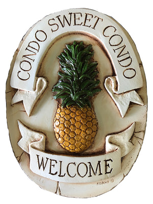 Pineapple Welcome Sign for your Condo