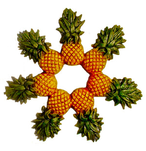Pineapple Wreath Wall Decor