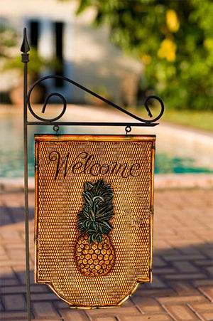 Pineapple Yard Sign and Garden Stake