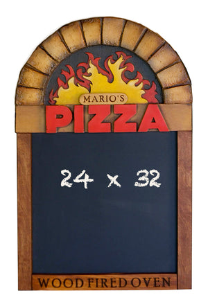 Pizza Restaurant Custom Chalkboard
