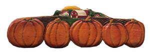 Pumpkin Autumn Wall Decor