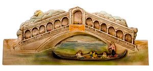 Rialto Bridge wall plaque Italian Door topper