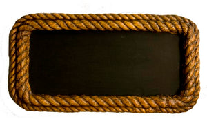 Nautical Decor Rope Chalkboard