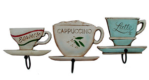 Set of 3 coffee cup plaques   item 554A