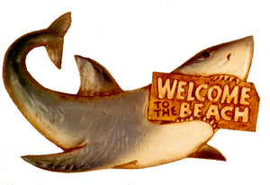 Shark Welcome Sign  item 392