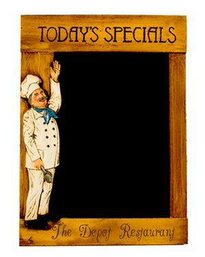 Today's Special Personalized Restaurant Chalkboard
