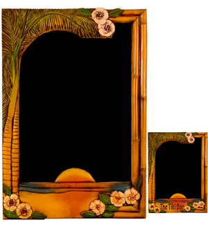 Tropical theme Chalkboard for home and restaurants decor , item 1313