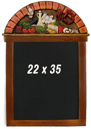 Tuscan Theme Decor chalkboard