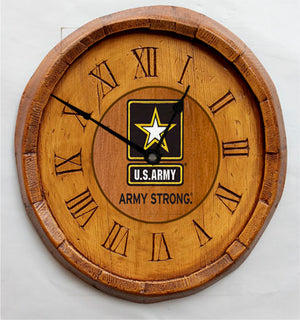U.S. Army Wall Clock, made in USA