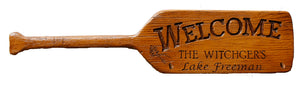 Oar Welcome  Sign Personalized